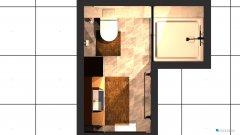 Raumgestaltung Wohnung unten in der Kategorie Badezimmer