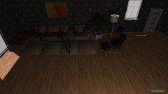 Raumgestaltung Wohnzimmer in der Kategorie Badezimmer