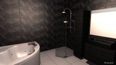 Raumgestaltung Zweites Variante Bad in der Kategorie Badezimmer