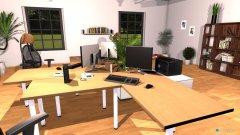 Raumgestaltung 3 PC's 1 Drucker in der Kategorie Büro