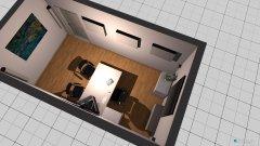 Raumgestaltung Anpasskabine in der Kategorie Büro