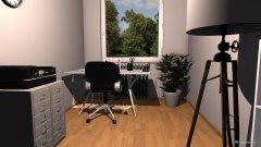 Raumgestaltung Arbeitszimmer Claudia in der Kategorie Büro