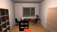 Raumgestaltung Arbeitszimmer kleiner Raum in der Kategorie Büro