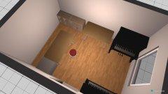 Raumgestaltung Arbeitszimmer Waldfriedhofstr in der Kategorie Büro
