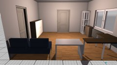 Raumgestaltung Arbeitszimmer in der Kategorie Büro