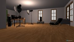 Raumgestaltung aufnahmezimmer in der Kategorie Büro