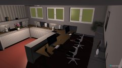 Raumgestaltung Büro 1 in der Kategorie Büro