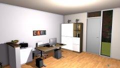 Raumgestaltung Büro FFM 2 in der Kategorie Büro