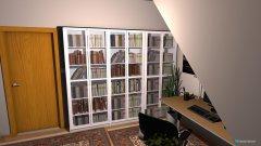 Raumgestaltung Büro Hobbyraum Leseraum in der Kategorie Büro