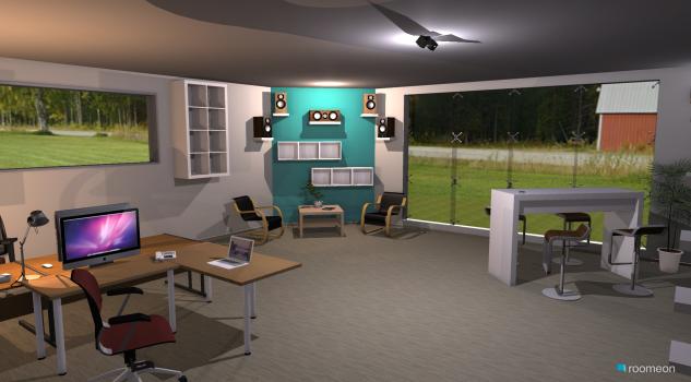 Raumgestaltung Büro ITK11 in der Kategorie Büro