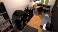 Raumgestaltung Büro Jakob Bett Ausgeklabbt in der Kategorie Büro