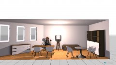 Raumgestaltung Büro Katja 3 in der Kategorie Büro
