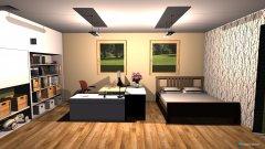 Raumgestaltung Büro mit Gastbereich in der Kategorie Büro