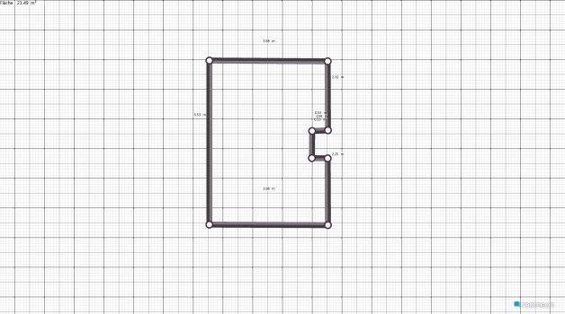Raumgestaltung Büro ohne Podest in der Kategorie Büro
