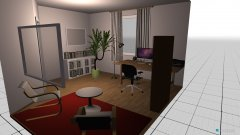 Raumgestaltung büro plan 1 in der Kategorie Büro