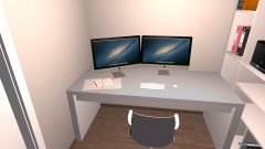 Raumgestaltung Büro (Reduit) in der Kategorie Büro