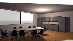 Raumgestaltung Büro Sozialraum in der Kategorie Büro