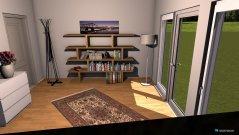 Raumgestaltung Büro und Gästezimmer in der Kategorie Büro