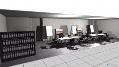 Raumgestaltung bürofenster in der Kategorie Büro