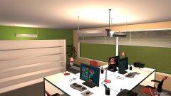 Raumgestaltung Büroraum in der Kategorie Büro
