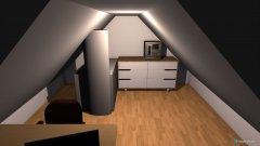 Raumgestaltung Dachboden in der Kategorie Büro