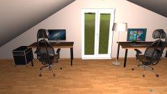 Raumgestaltung Dachgeschoss in der Kategorie Büro