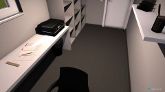 Raumgestaltung Delano's studeerkamer in der Kategorie Büro