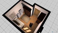 Raumgestaltung Domis Studierzimmer in der Kategorie Büro