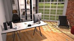 Raumgestaltung Einzelbüro in der Kategorie Büro