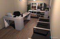 Raumgestaltung Escritorio in der Kategorie Büro