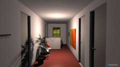 Raumgestaltung Flur in der Kategorie Büro