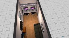 Raumgestaltung Gäste-Büro in der Kategorie Büro
