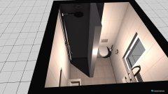 Raumgestaltung Gästebad1 in der Kategorie Büro