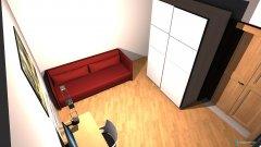 Raumgestaltung Gästezimmer und Büro in der Kategorie Büro