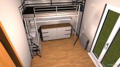 Raumgestaltung Gästezimmer in der Kategorie Büro