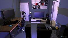 Raumgestaltung gamer room in der Kategorie Büro