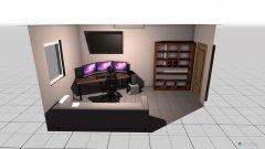 Raumgestaltung gaming room v1 in der Kategorie Büro