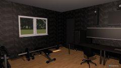 Raumgestaltung Gaming room in der Kategorie Büro