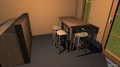 Raumgestaltung Gartenhütte 1 in der Kategorie Büro