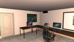 Raumgestaltung grosses Flame als Grading in der Kategorie Büro