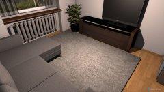 Raumgestaltung grosses zimmer mit sofa in der Kategorie Büro