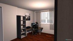 Raumgestaltung großes Zimmer in der Kategorie Büro