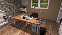 Raumgestaltung Grundrissvorlage Büro IW in der Kategorie Büro