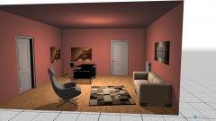 Raumgestaltung Grundrissvorlage Quadrat 12 in der Kategorie Büro