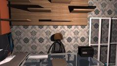 Raumgestaltung Grundrissvorlage Quadrat in der Kategorie Büro