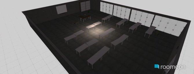 Raumgestaltung Haus 1 in der Kategorie Büro