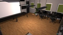 Raumgestaltung Hobbyraum in der Kategorie Büro