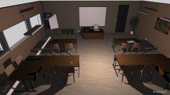 Raumgestaltung KLassenzimmer in der Kategorie Büro