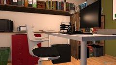 Raumgestaltung kleines büro in der Kategorie Büro