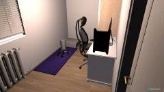 Raumgestaltung Kleines Zimmer2 in der Kategorie Büro